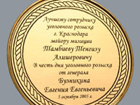 наградная продукция медаль